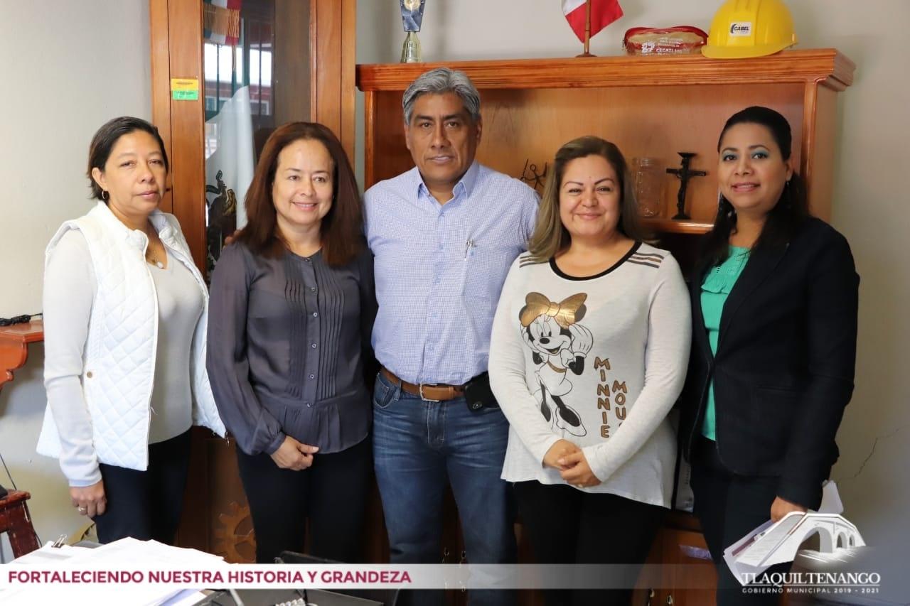 Convenio de trabajo entre el Gobierno Municipal y la Institución CECATI No 100