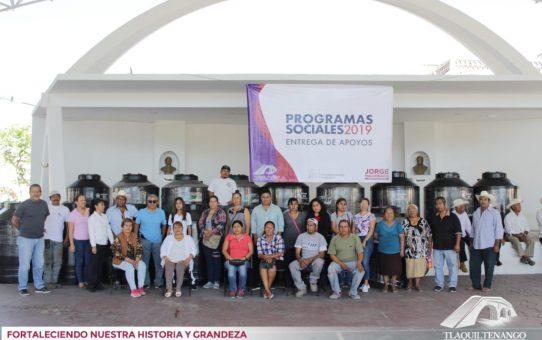 Beneficiarios de Programas Sociales 2019