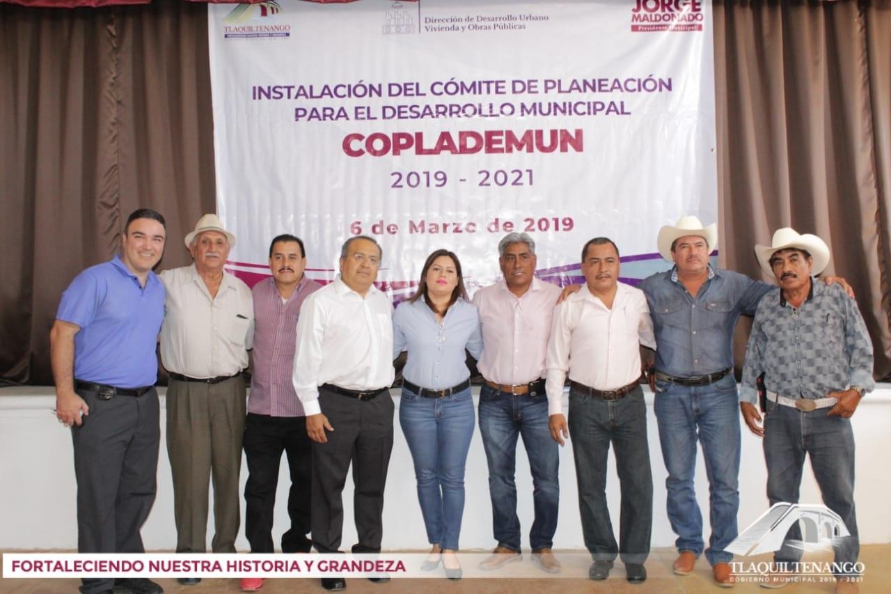 Instalación del Comité  de Planeación y Desarrollo Municipal