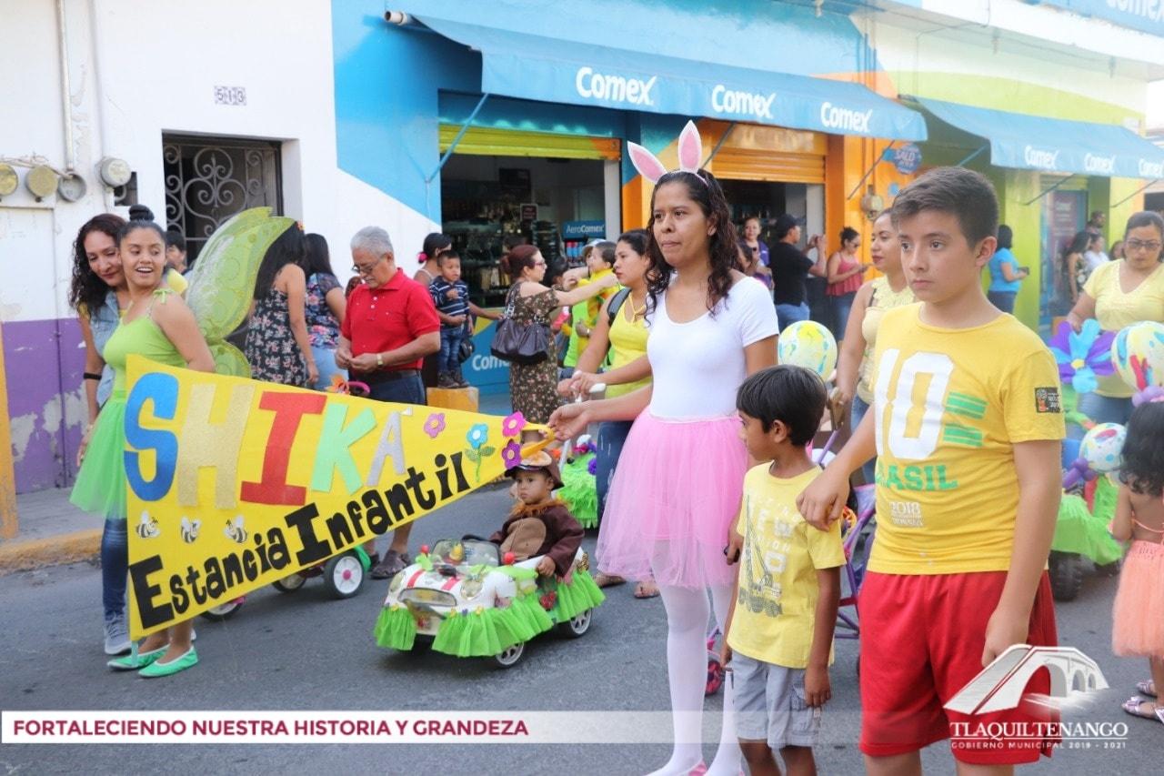 Desfile de la Primavera en Tlaquiltenango