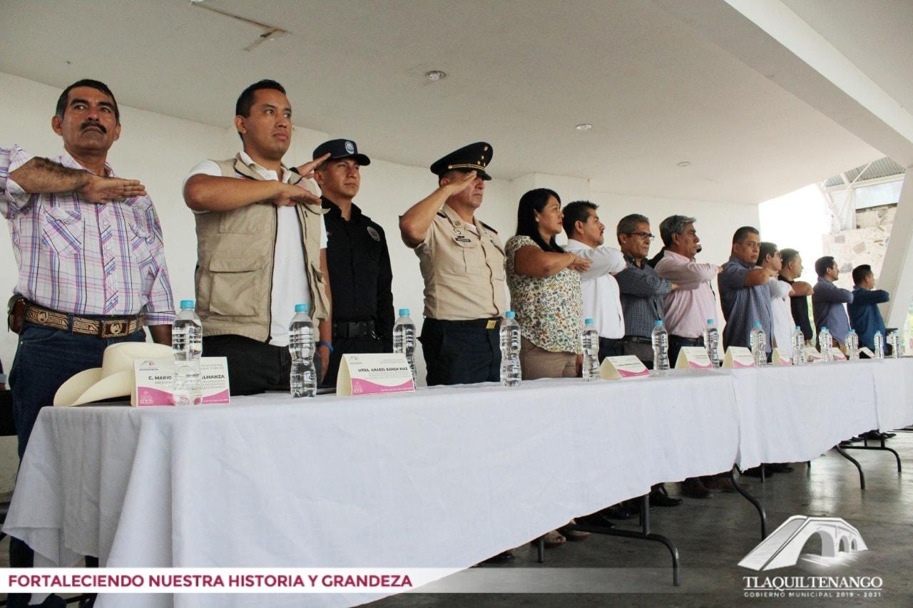 Instalación del Consejo Municipal de Seguridad Pública de Tlaquiltenango