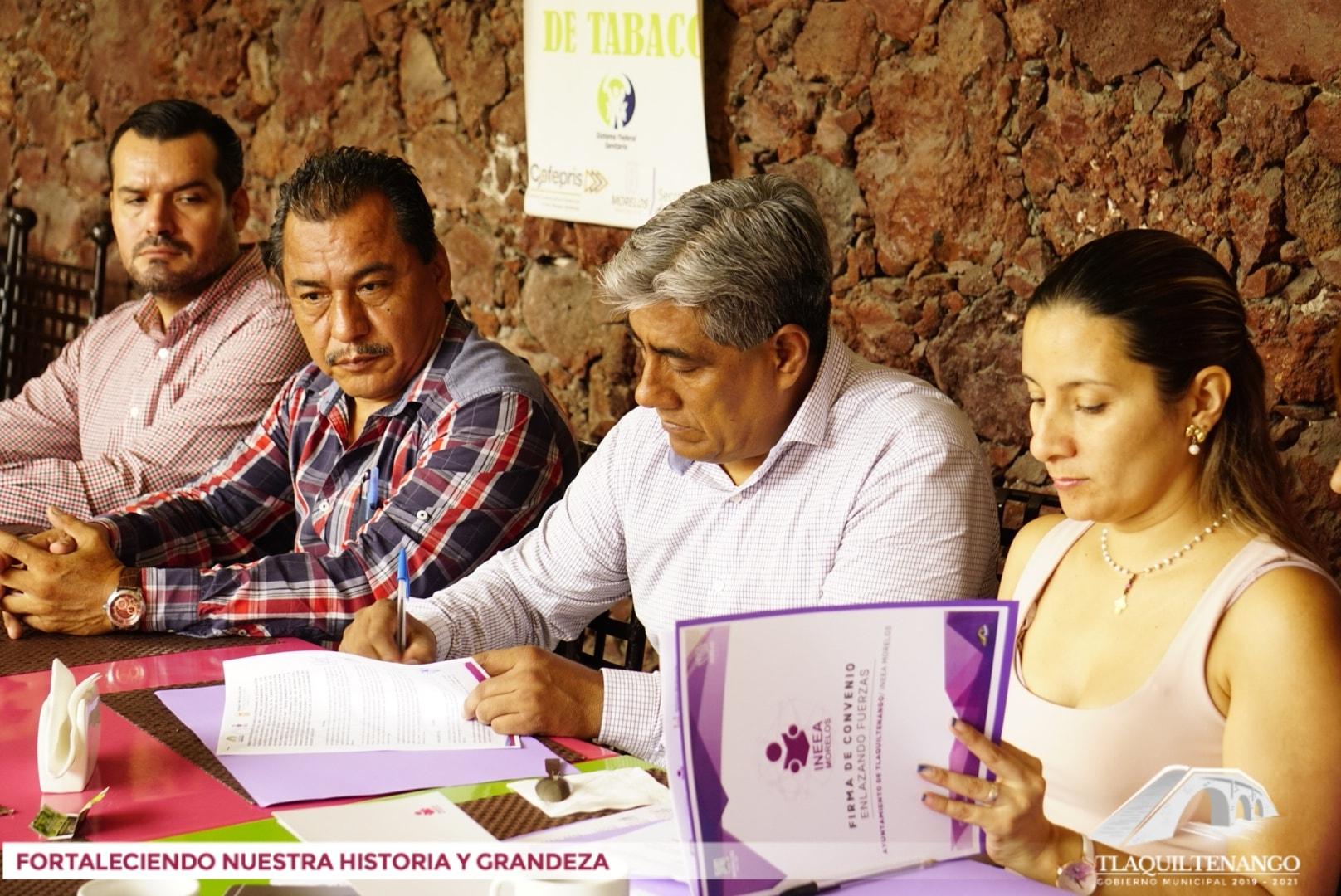 Convenio de Colaboración para el Desarrollo de los Programas de Educación para Adultos