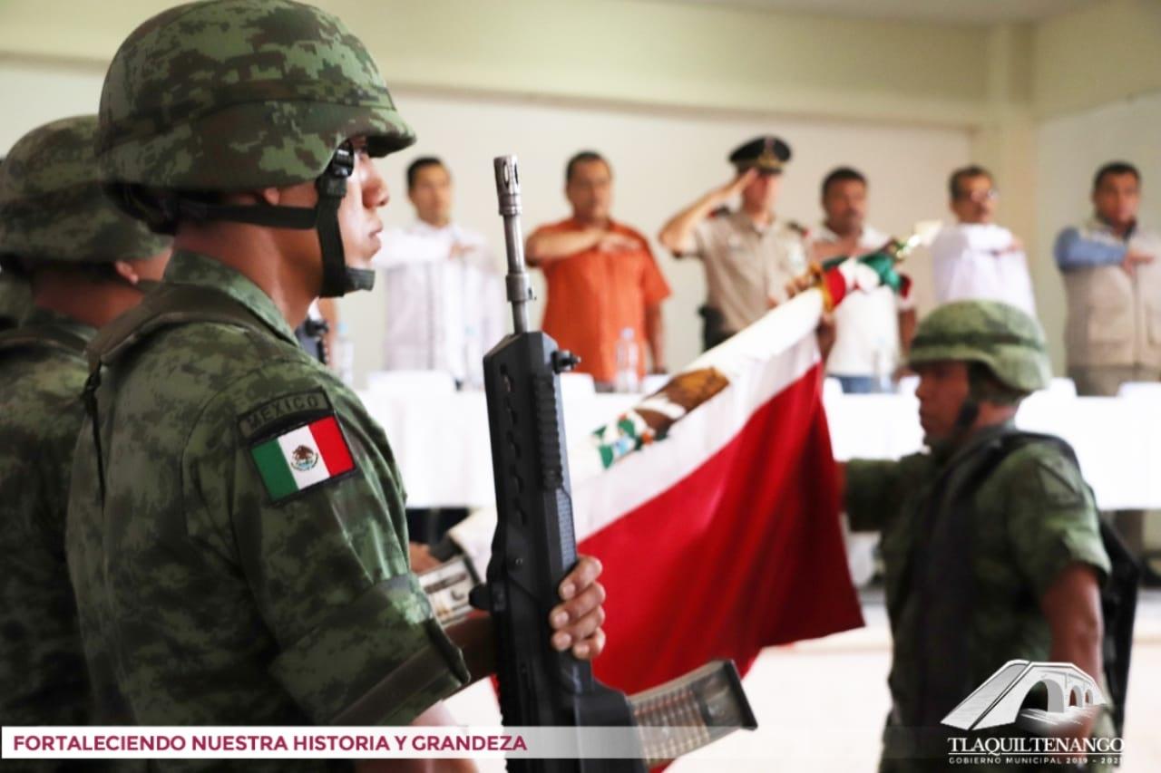 Primera Sesión Ordinaria de Consejo Municipal de Seguridad de Tlaquiltenango