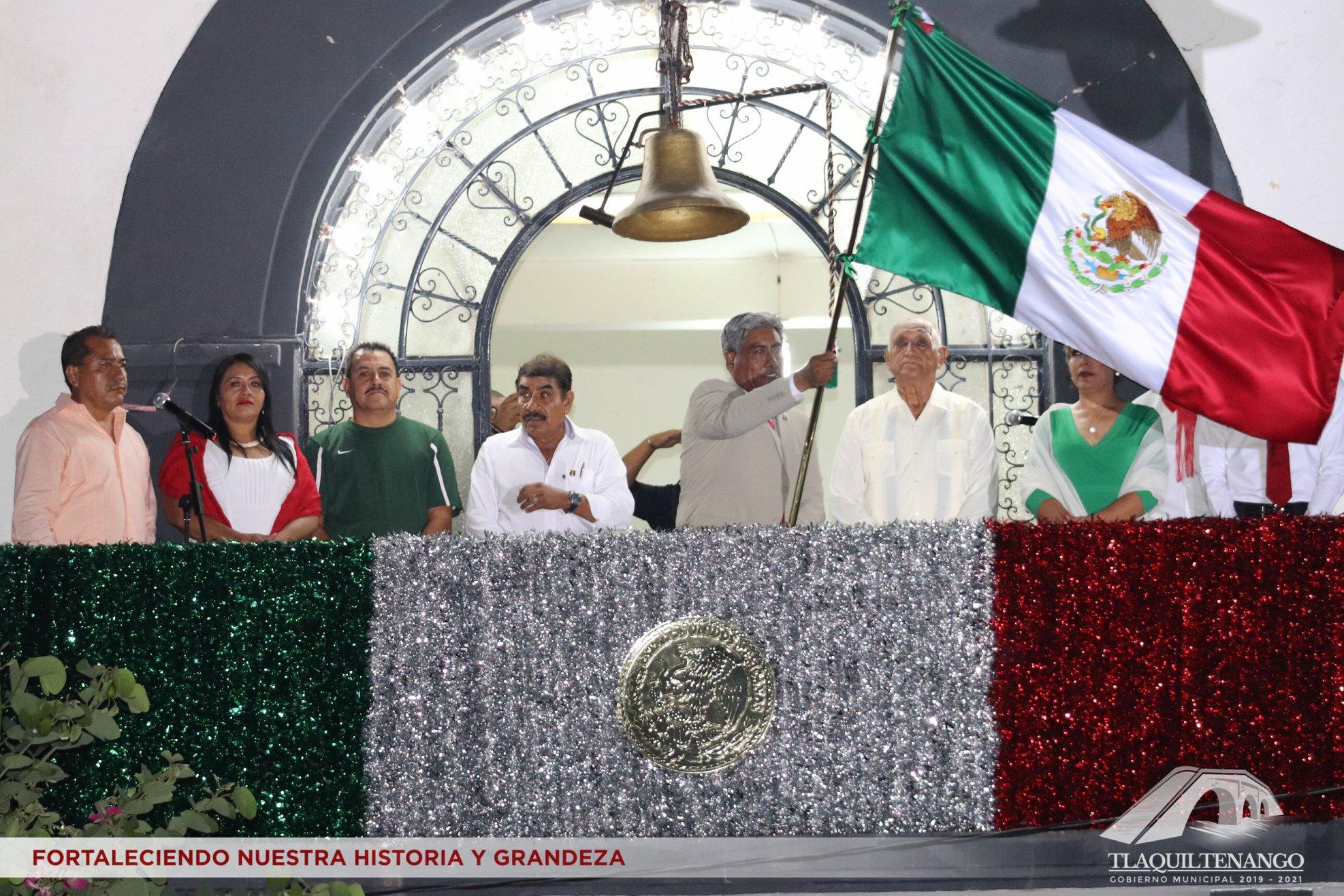 Tradicional Grito de Independencia 2019