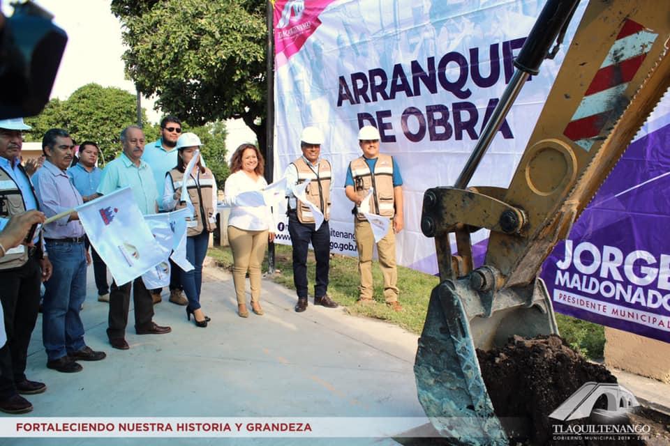 Arranque de Obra Col. 3 de Mayo y localidad de Quilamula