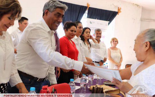 Clausuran ICATMOR y Ayuntamiento de Tlaquiltenango Curso de Capacitación