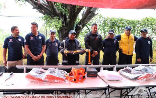 Entregaron Herramientas de Trabajo a los Elementos de Protección Civil Municipal