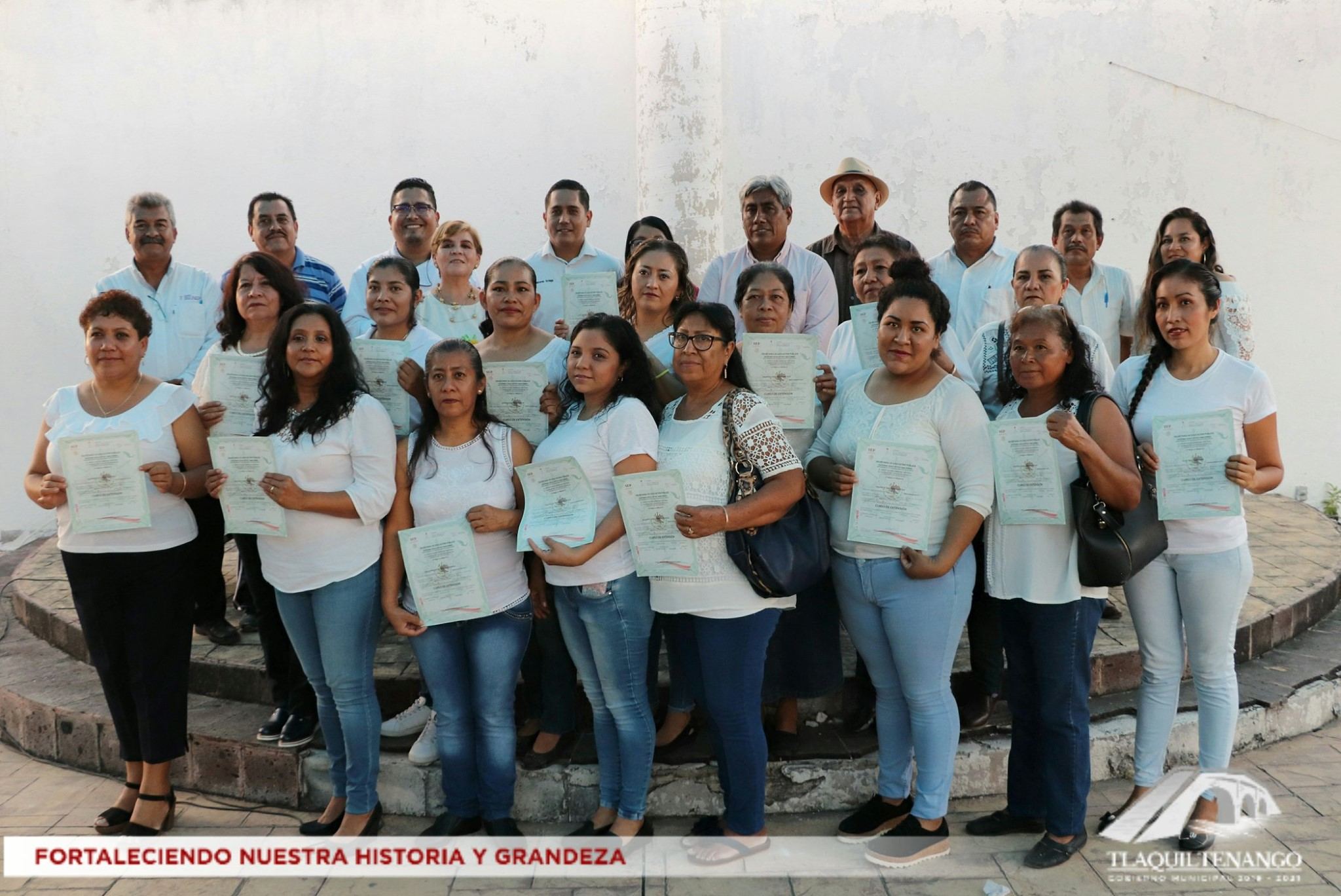 Clausura ICATMOR y Ayuntamiento de Tlaquiltenango Cursos de Capacitación