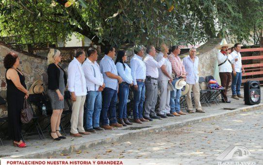 Conmemoración de la Transcripción del Plan de Ayala en la Comunidad de Ajuchitlan
