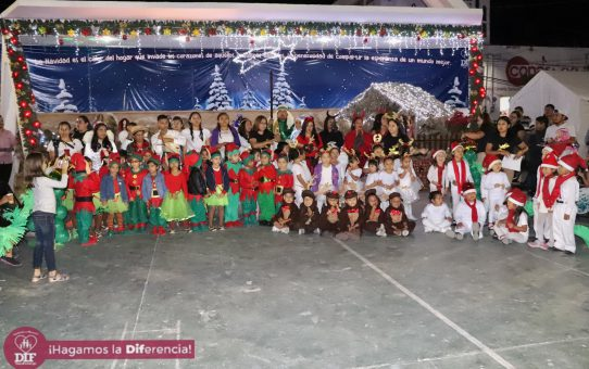 Festival Navideño y Pastorela CAIC DIF