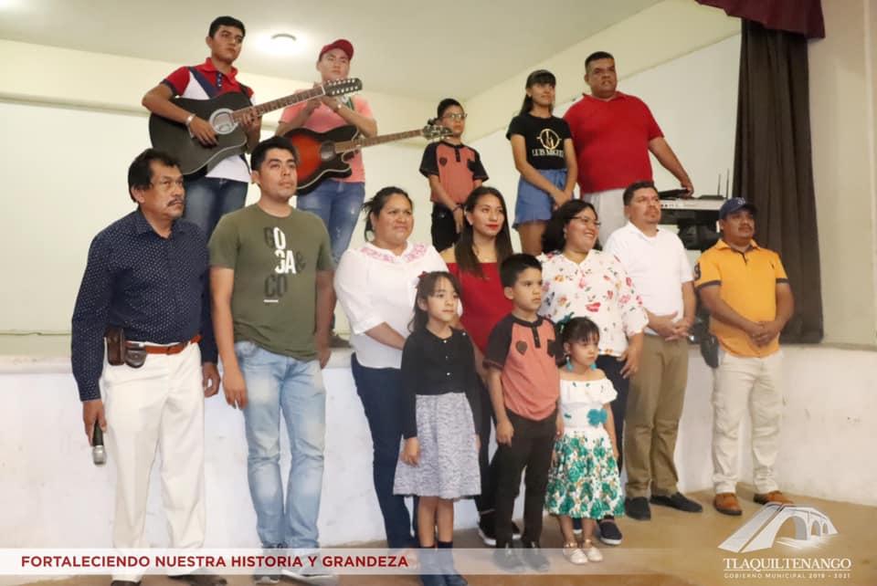 Clausura de cursos del programa cultura comunitaria en Tlaquiltenango