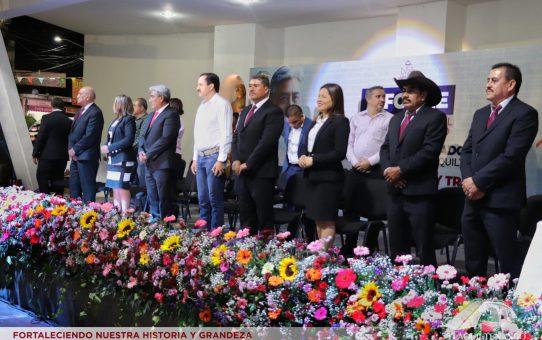 El Profe Jorge Maldonado rinde su Primer Informe de Gobierno