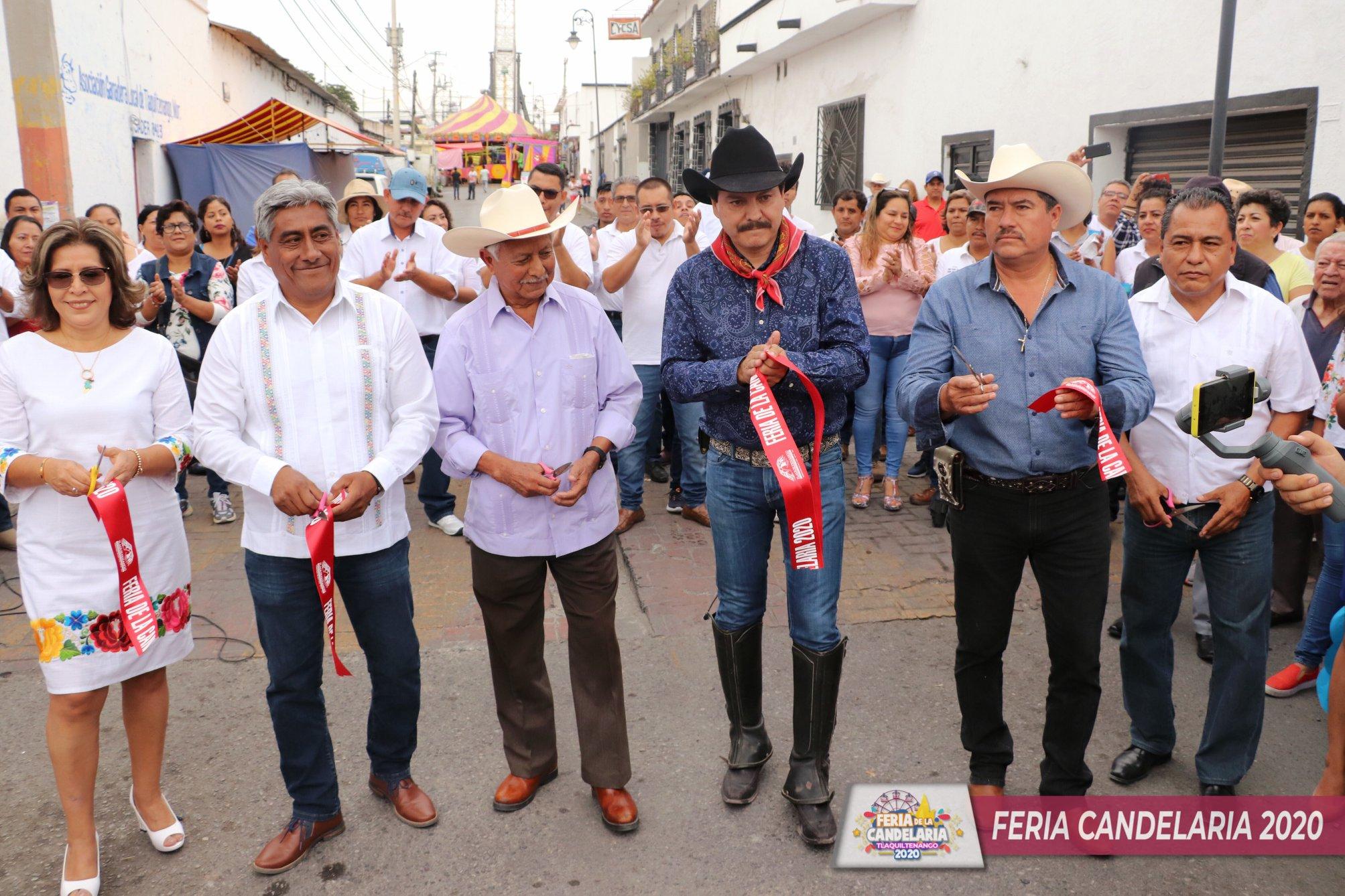 Inauguración Feria Candelaria, Tlaquiltenango 2020