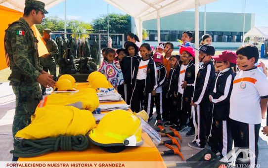 Visita Guiada al destacamento militar del 108 Batallón de Infantería