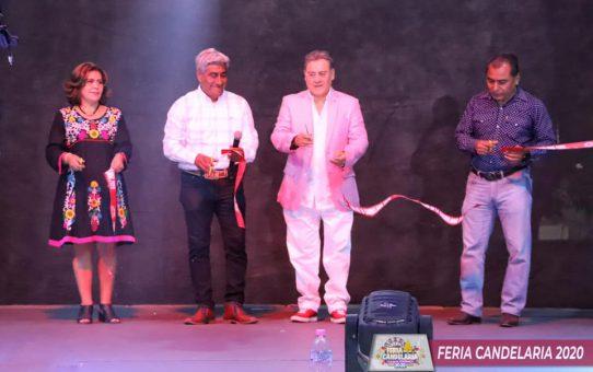 Inauguracion del Teatro del Pueblo de la Feria la Candelaria 2020