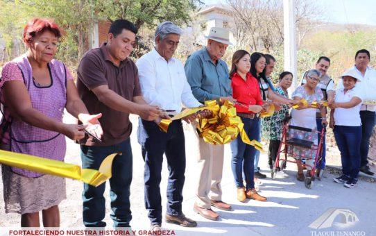 Entrega De Obra En Las Comunidades De Las Bovedas Y Colonia Palo Grande