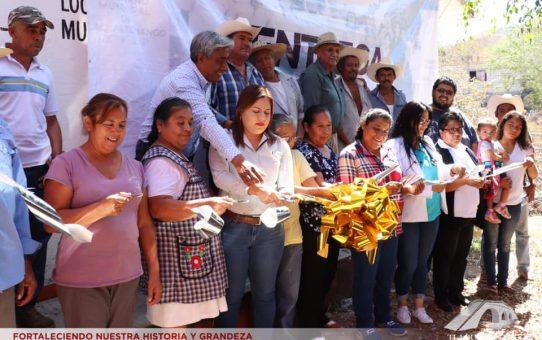 Entrega De Obra De Infraestructura Básica En La Comunidad De De Xochipala
