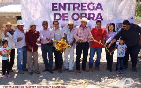 Entrega De Obra En La Comunidad De Santiopan