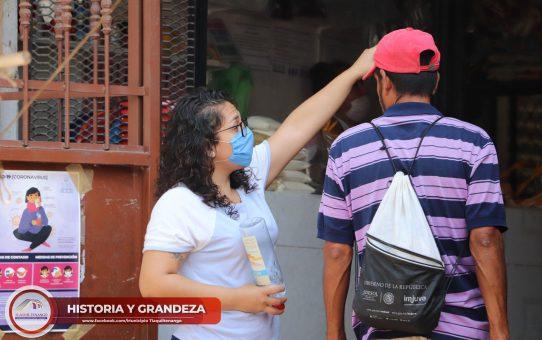 Programa Mercado Seguro en Tlaquiltenango