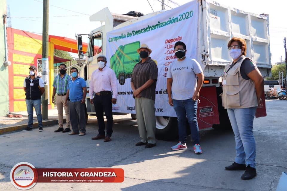 Arranca Campaña de Descacharrización en Tlaquiltenango