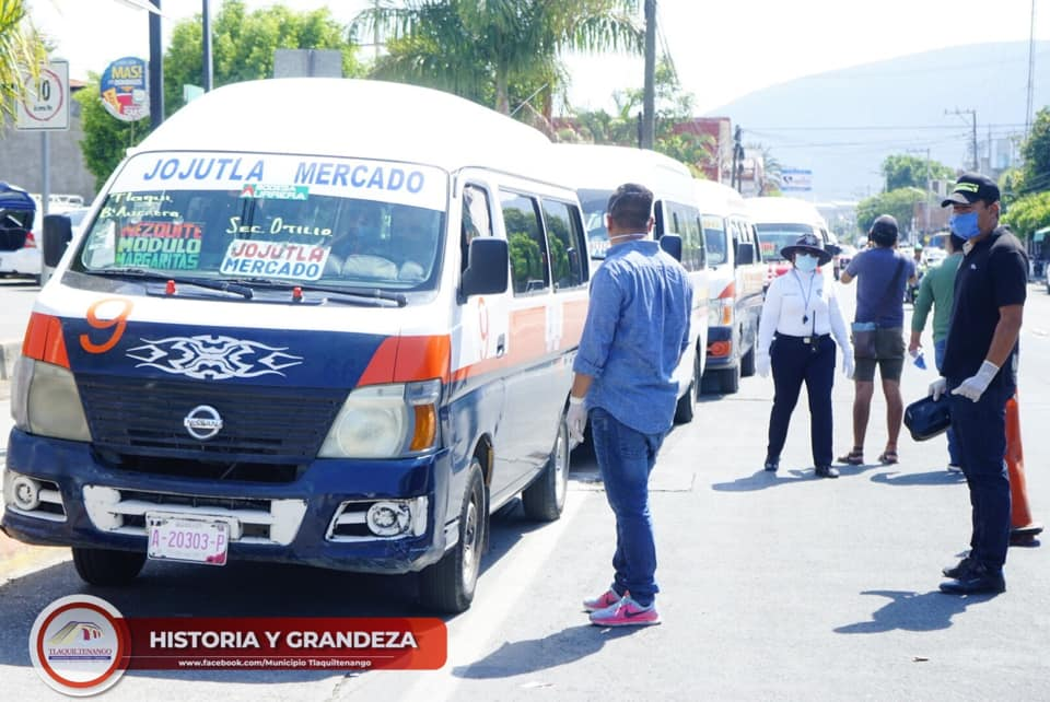 Arranque del Retén Informativo para Chóferes de Transporte Público