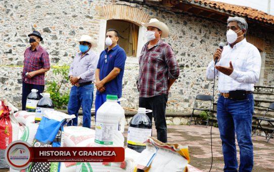 Inicia Entrega de Abono y Semilla de Temporal 2020 a Productores de Tlaquiltenango