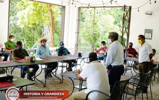 Balnearios de Tlaquiltenango se Preparan para el Regreso a la Nueva Normalidad