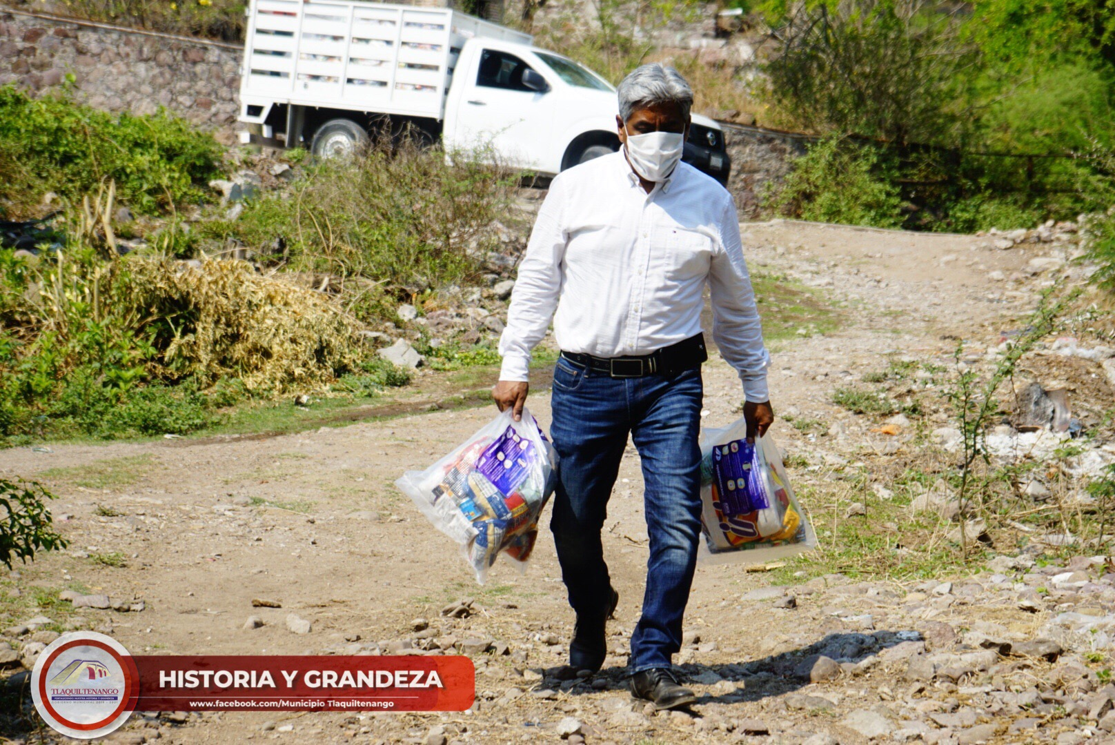 Encabeza El Profe Jorge Maldonado El Inicio De La Entrega De Despensas En Las Comunidades De Tlaquiltenango