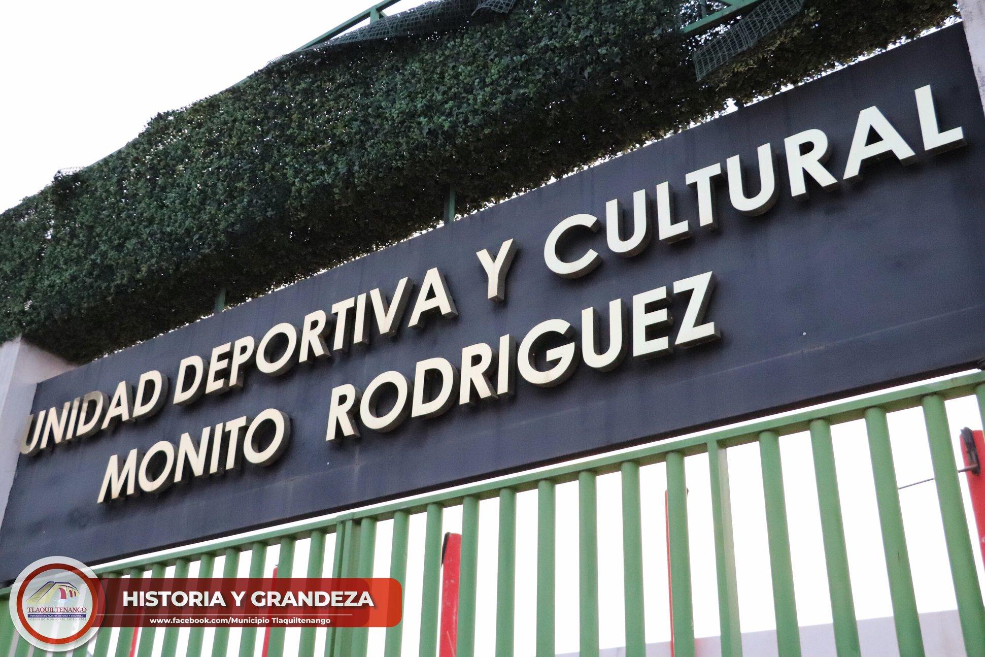 """Reapertura de la unidad deportiva Roberto """"monito"""" Rodríguez"""