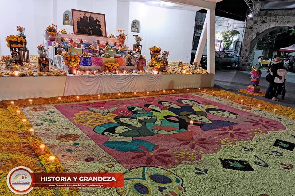 Ofrenda de día de muertos, Tlaquiltenango 2020