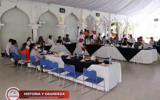 Tlaquiltenango sede de la séptima reunión de trabajo de la Red de Morelense de Municipios por la Salud, Región II