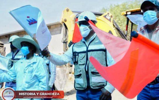 Arranque de Obra en la Comunidad de Ajuchitlan
