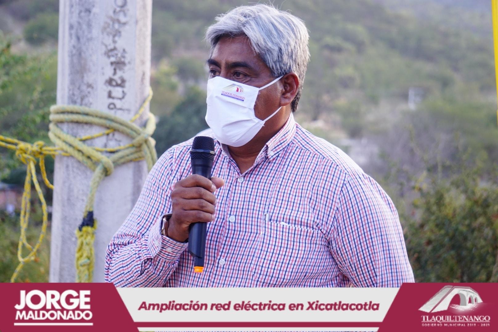 Entrega de Obra en la Comunidad de Xicatlacotla