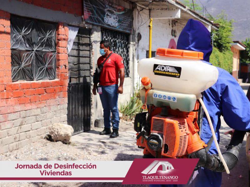 Jornada de Desinfección de Viviendas