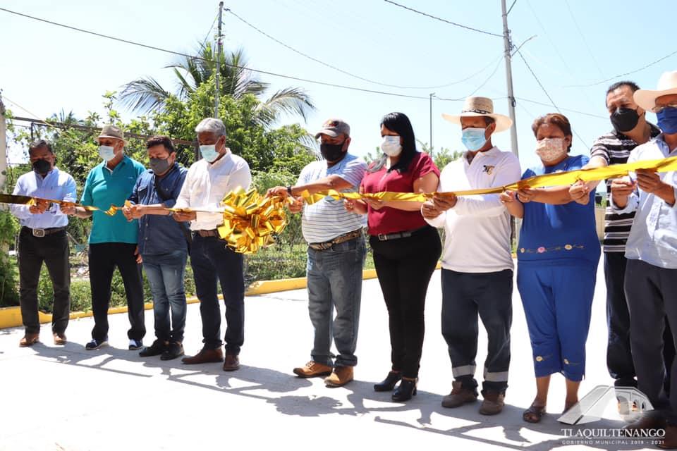 Inauguracion de la Calle Los Laureles en la Col. Celerino Manzanares