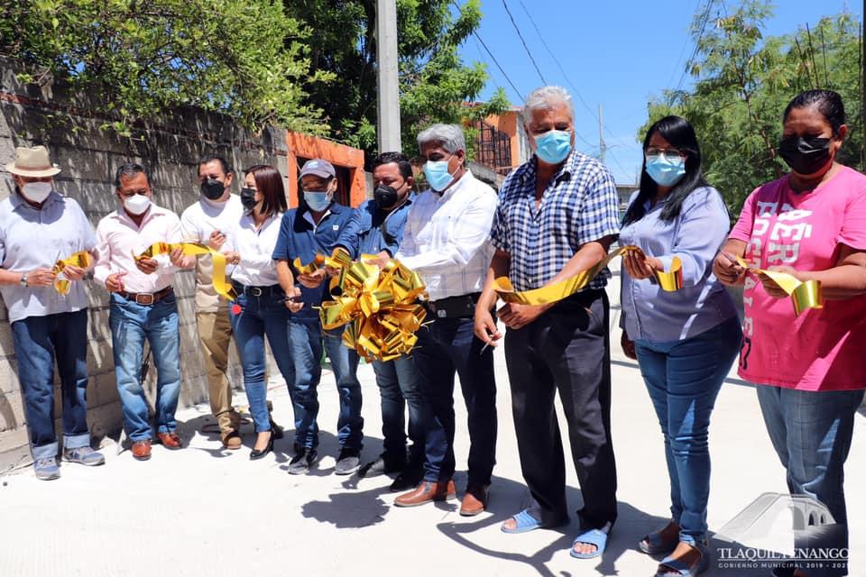 Entrega de Obra De Rehabilitación de Drenaje Y Pavimentación de Calle Privada Gabriel Tepepa de La Colonia Celerino Manzanares