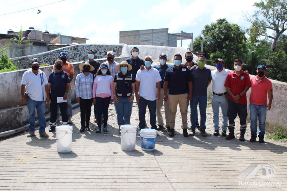 Operativo de Saneamiento en la Colonia Celerino Manzanares