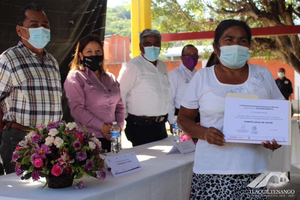 Valle de Vázquez, Primera Comunidad Certificada como Promotora de la Salud en Tlaquiltenango